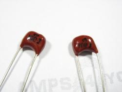 Kondensator Silver Mica 100pf/ 500V