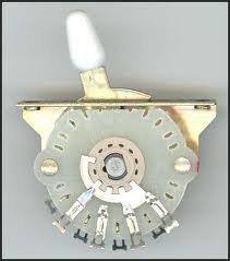 Przełącznik gitarowy 5-poz. Typ Strat WHITE