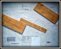 Plan budowy gitary GIBSON FIREBIRD VII