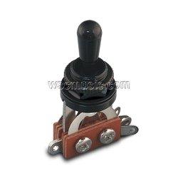 Przełącznik BTG-BK-BLK 3-poz Typ GIBSON Black/Black