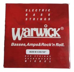 WARWICK 46200 M 4 struny do basu 045/105