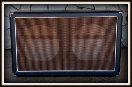 Obudowa Kolumny 2x12 Oxblood