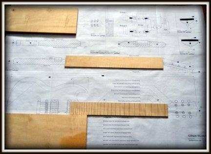 Plan budowy gitary GIBSON SG