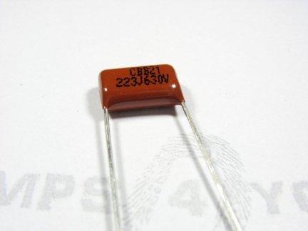 Kondensator foliowy metalizowany 22nF 630V 3szt.