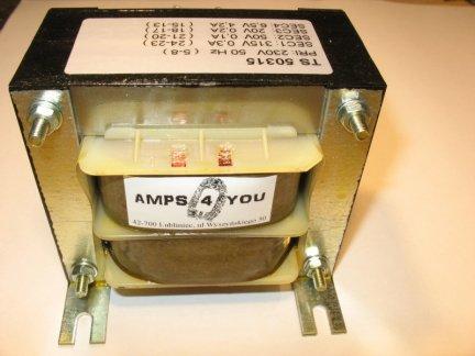 Transformator sieciowy 50 WAT TS50315 lampowy