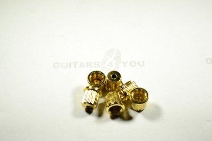 Tuleja do montażu strun HS017 8.2mm Gold