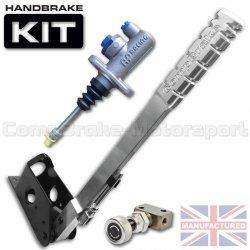 Hydrauliczny hamulec ręczny Compbrake Premier pionowy, z pompą AP Racing, korektorem siły hamowania (450mm)