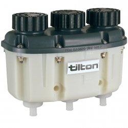 3-komorowy zbiorniczek na płyn hamulcowy Tilton