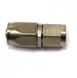 Złączka żeńska prosta Aeroquip -6JIC niklowana