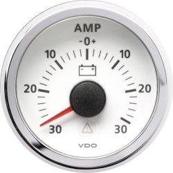 Amperomierz VDO Viewline (30amp.) white