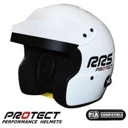 Kask otwarty RRS PROTEC JET - SNELL FIA HANS - 4 kolory