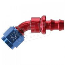 Końcówka aluminiowa QSP Push-On 45* D06