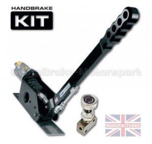 Hydrauliczny hamulec ręczny Compbrake Sportline 450mm z pompą i korektorem siły hamowania