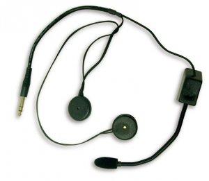 Słuchawki z mikrofonem Terratrip Professional (do kasku otwartego)
