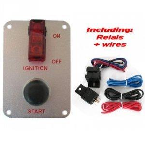Switch panel / panel startowy QSP mały alu