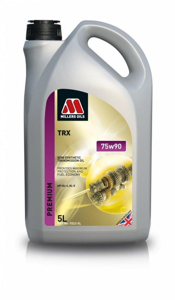 Olej przekładniowy półsyntetyczny Millers Oils TRX 75w90 5l