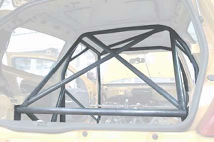 Wielopunktowa klatka bezpieczeństwa OMP Renault Clio 2.0 16V RS 1998-Fe45