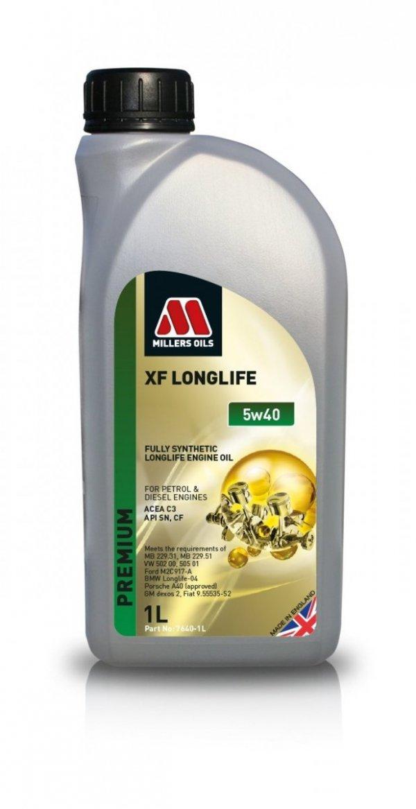 Olej Millers Oils XF Longlife 5w40 1l