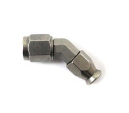 Kuta złączka żeńska 45* Moquip -3JIC ze stali nierdzewnej