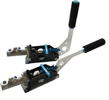 Hydrauliczny hamulec ręczny, komplet z pompą i blokadą