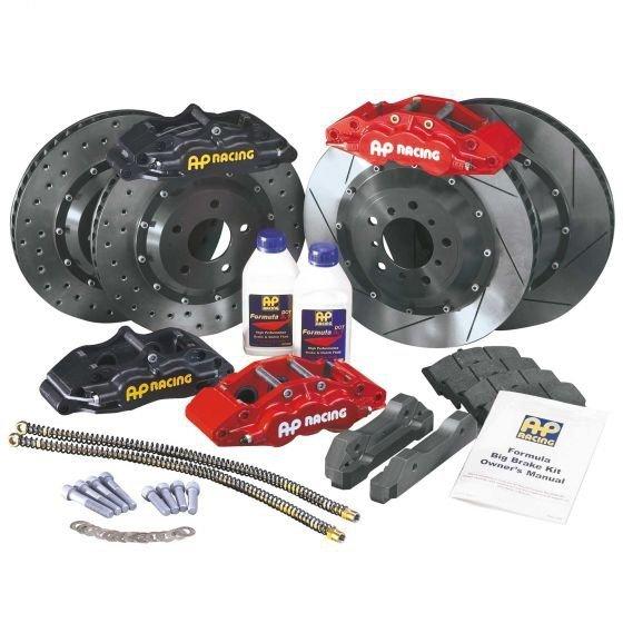 Zestaw hamulcowy AP Racing SUBARU BRZ / TOYOTA GT86 2012 (tył 4tłoczkowy)