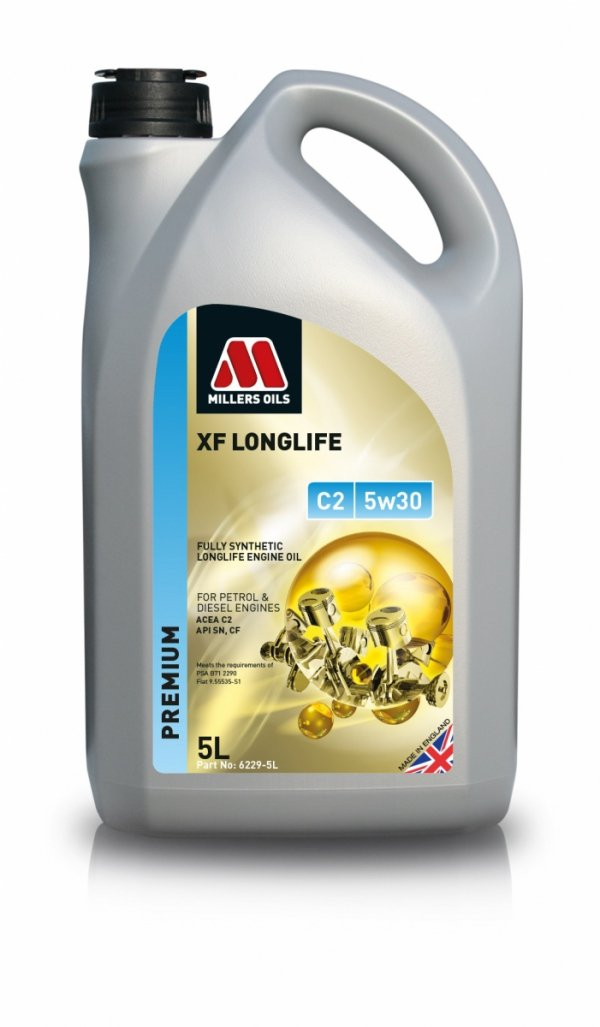 Olej Millers Oils XF Longlife C2 5w30 5l