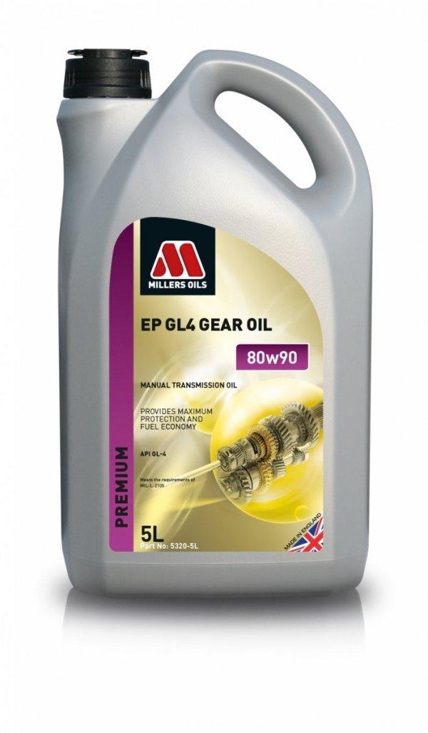 Olej przekładniowy Millers Oils EP 80w90 GL4 5l