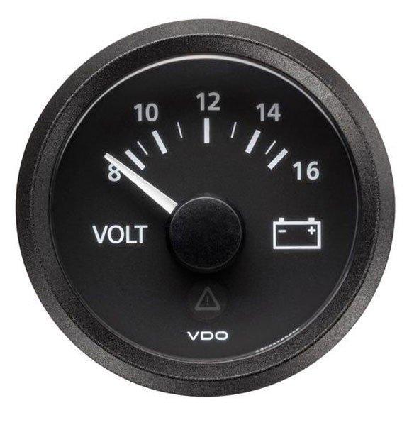 Voltomierz VDO Viewline black