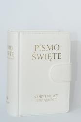 PISMO ŚWIĘTE STARY I NOWY TESTAMENT OPRAWA SKÓROPODOBNA Z MAGNESEM