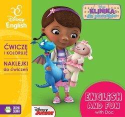 ĆWICZĘ I KOLORUJĘ Z NAKLEJKAMI Z DOSIĄ DISNEY ENGLISH