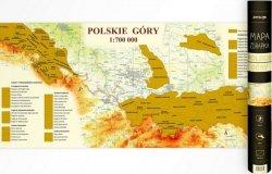 MAPA ZDRAPKA POLSKIE GÓRY 1:700 000