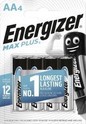 BATERIE ENERGIZER MAX PLUS AA LR6 4 SZT