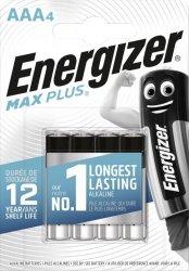 BATERIE ENERGIZER MAX PLUS AAA LR03 4SZT