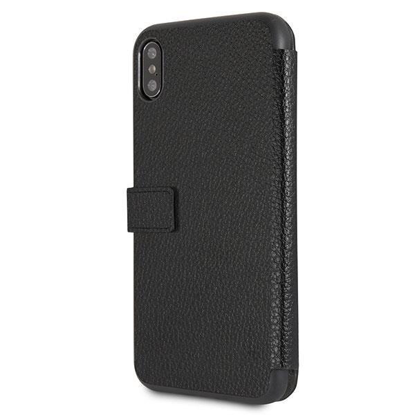 Etui Guess GUFLBKI65IGLBK iPhone Xs Max black /czarny book Iridescent