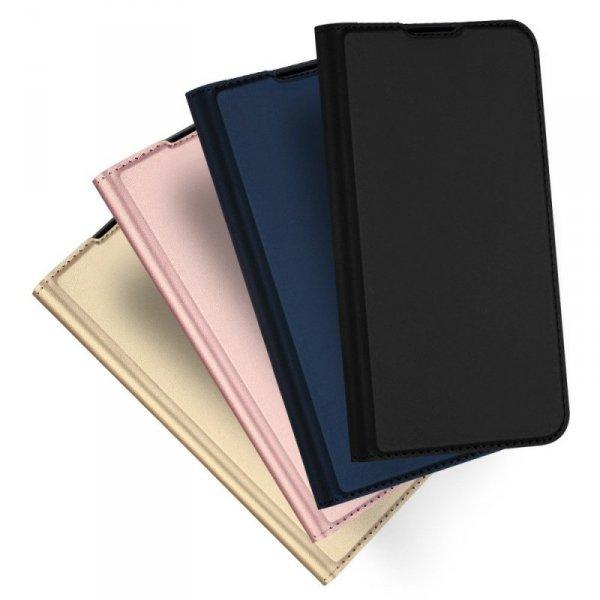 DUX DUCIS Skin Pro kabura etui pokrowiec z klapką Huawei Mate 30 Lite niebieski