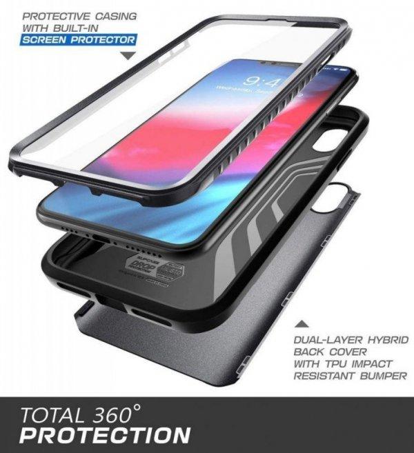 Etui Supcase Ub Neo Iphone Xs Max Black