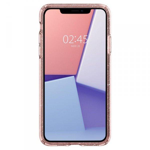 Etui Spigen Liquid Crystal Iphone 11 Pro Max Glitter Rose