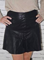 Mini spódniczka z eko skóry