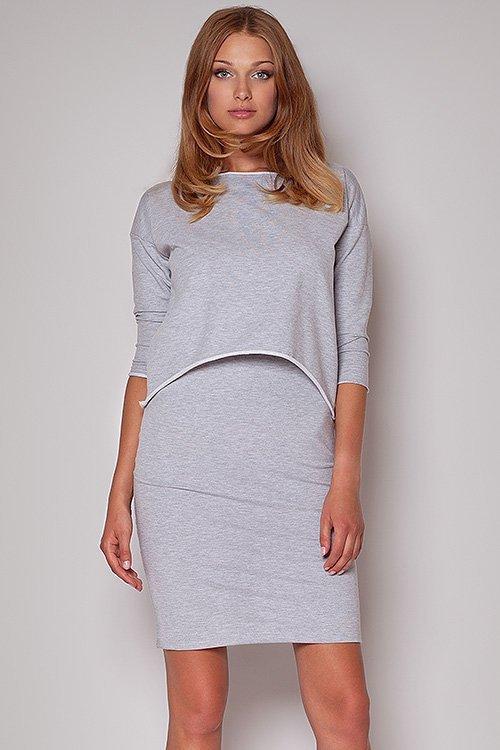 Sukienka Model 206 Grey