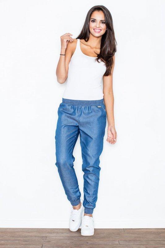 Spodnie Damskie Model 307 Blue