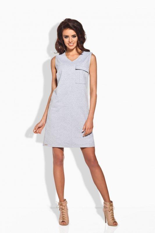 Sukienka Model L122 Light Grey