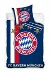 Pościel Klubowa Bayern Monachium 160x200 Granatowa Carbotex