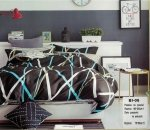 Pościel Mengtianzi Grafitowa 160x200 100% bawełna B1-05