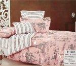 Pościel Mengtianzi Biała - Różowa Paryż 160x200 100% bawełna B-192 Z Młodzieżowa