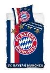 Oficjalna pościel Bayern Monachium Granatowa 160x200 100% bawełna Carbotex. Pościel Piłka Nożna Bayern Monachium