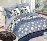 Pościel Mengtianzi 160x200 Kolorowa 100% bawełna wz B-832