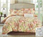 Pościel Mengtianzi Kolorowa w Kwiaty 200x220 100% bawełna B-642
