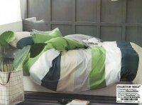 Pościel Collection World 200x220 Kolorowa w Pasy 100% bawełna wz 1174