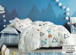 Pościel Collection World 160x200 Popielata 100% bawełna wz 1026