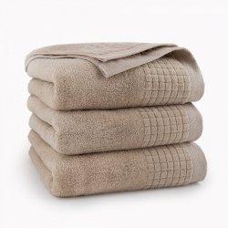 Ręcznik kąpielowy 50x90 Beżowy Paulo - Zwoltex